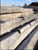 Antique Hand Hewn Timbers