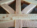 mortise and tenon Timber truss