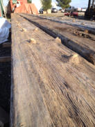 Sellwood Bridge reclaimed antique timber 40' long