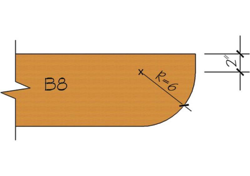 corbels rafter tails brackets & knee braces